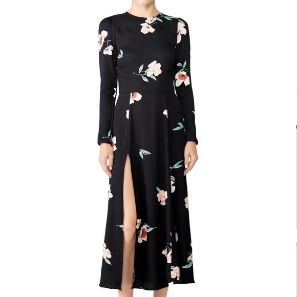 9f80a1fc586c Reformation Vanessa Dress Ornament Black Floral. M_5bcf6c88baebf6c753da1016